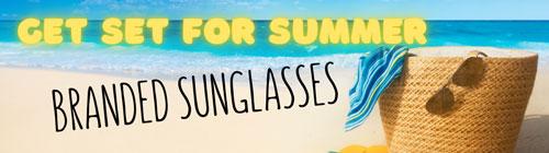 Branded Sunglasses Banner