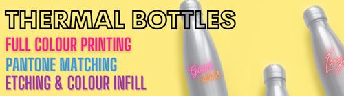 Branded Thermal Bottles Banner