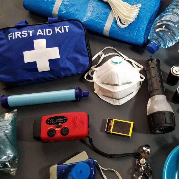 First Aid Kit & Supplies