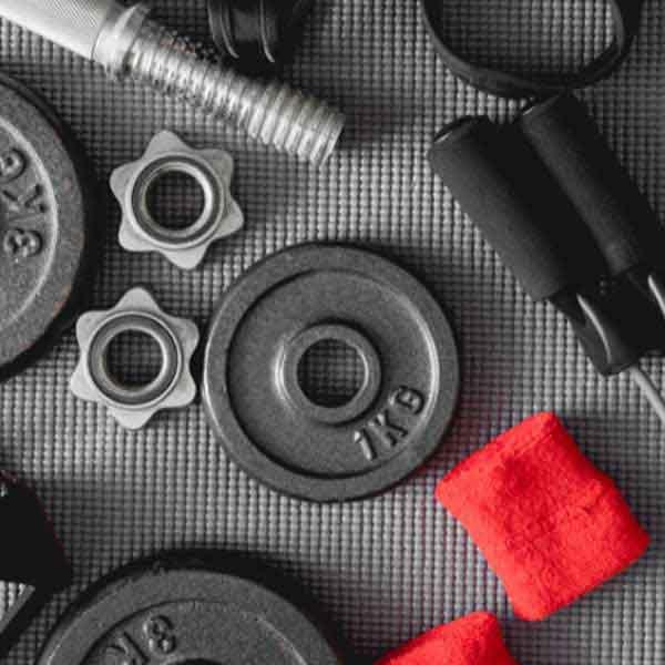 Gym Weights & Sweatbands