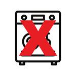 Not Dishwasher Safe Icon