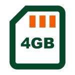 Memory Size Icon