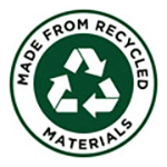 Contains Recycled Materials