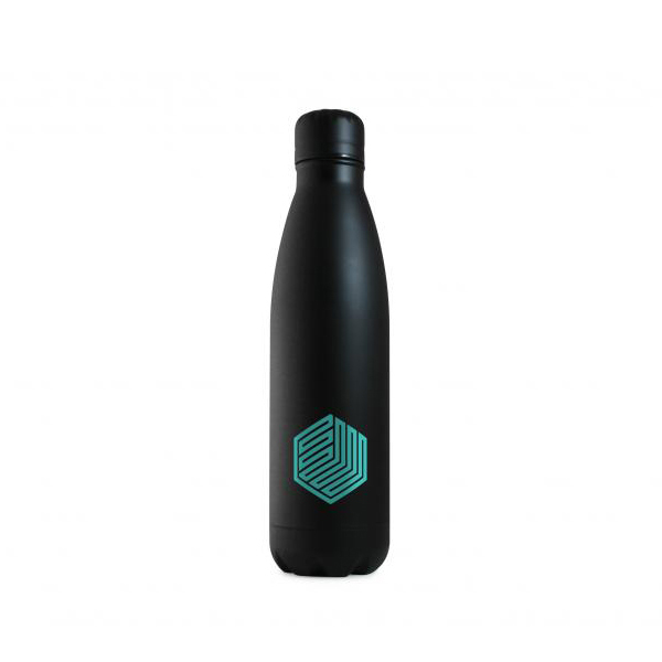 Black Eevo-Therm Printed Bottle