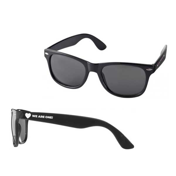 Black Sun Ray Sunglasses