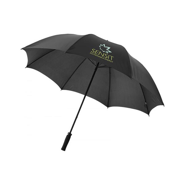 Black Yfke Golf Umbrella