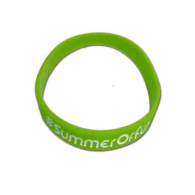Custom Branded Silicone Wristband