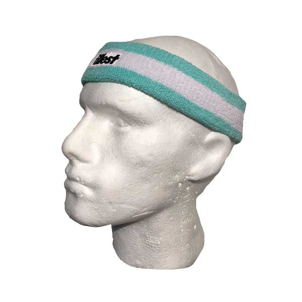 Custom Embroidered Headband - Side View