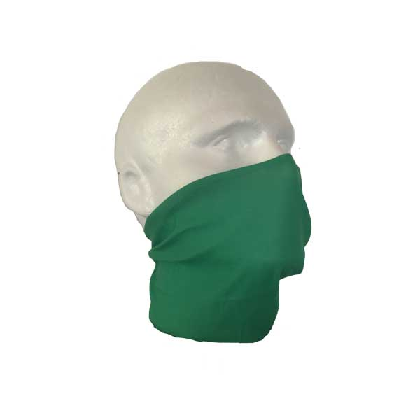 Green Face Cover Bandana