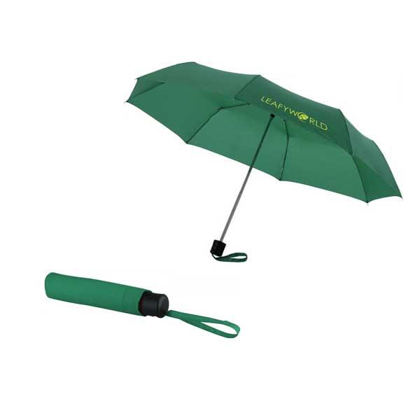 Green Ida Foldable Umbrella
