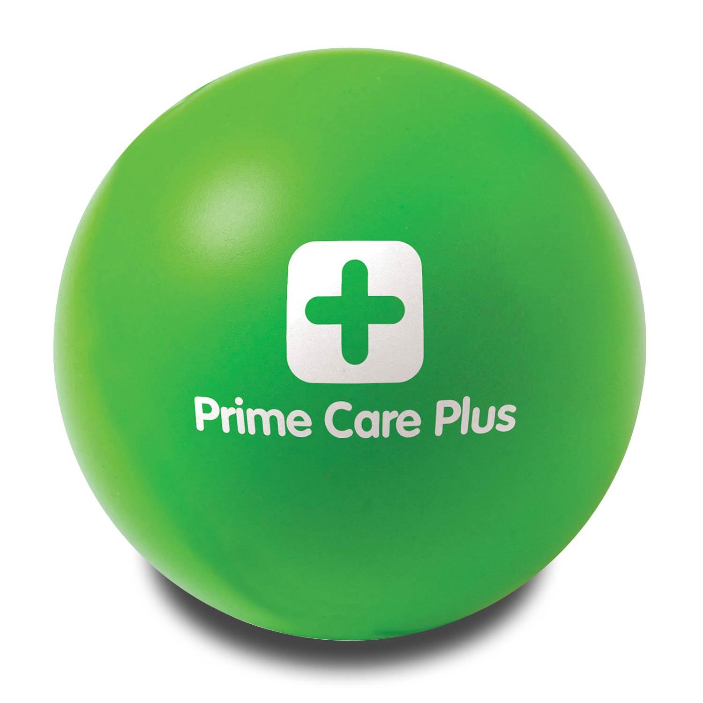 Green Customised Stress Balls