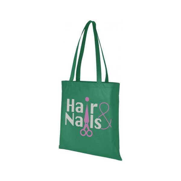 Green Zeus Large Non-woven Tote Bag