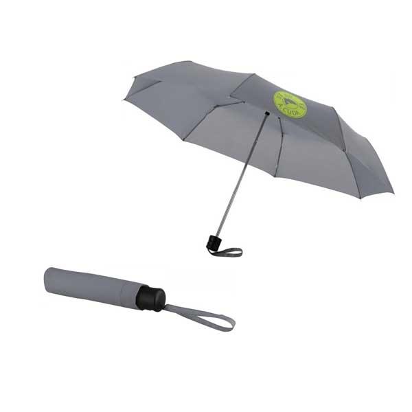 Grey Ida Foldable Umbrella