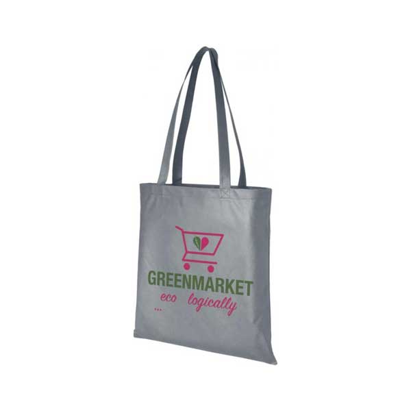 Grey Zeus Large Non-woven Tote Bag