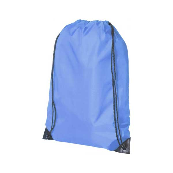 Light Blue Oriole Premium Drawstring Backpack