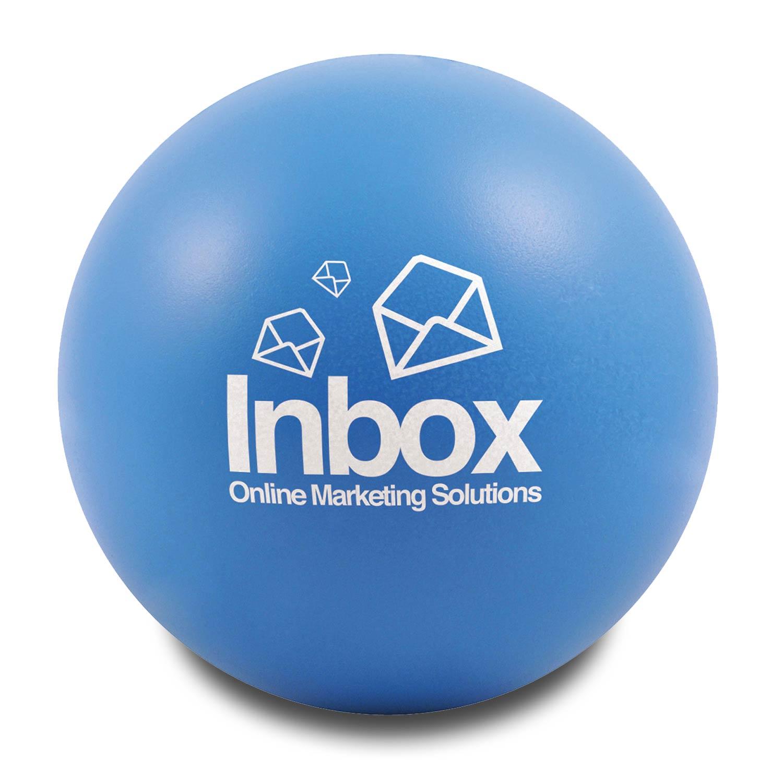 Light Blue Customised Stress Balls
