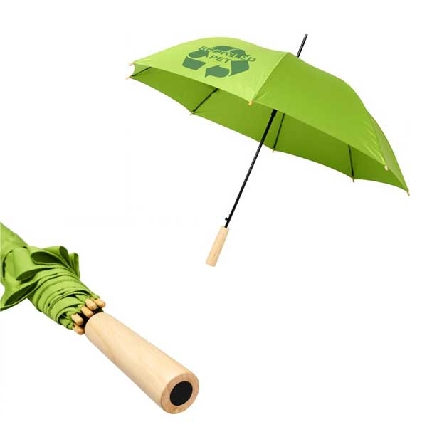 Lime Green Alina Recycled Umbrella