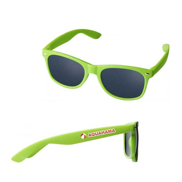 Lime Green Sun Ray Kids Sunglasses