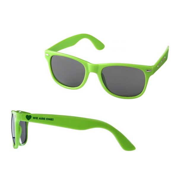 Lime Green Sun Ray Sunglasses