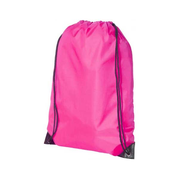 Magenta Oriole Premium Drawstring Backpack