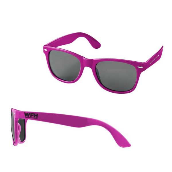 Magenta Sun Ray Sunglasses