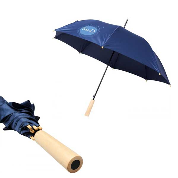 Navy Blue Alina Recycled Umbrella