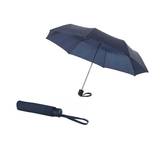 Navy Blue Ida Foldable Umbrella