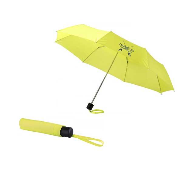 Neon Green Ida Foldable Umbrella