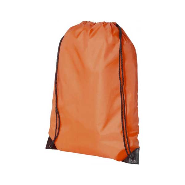 Orange Oriole Premium Drawstring Backpack