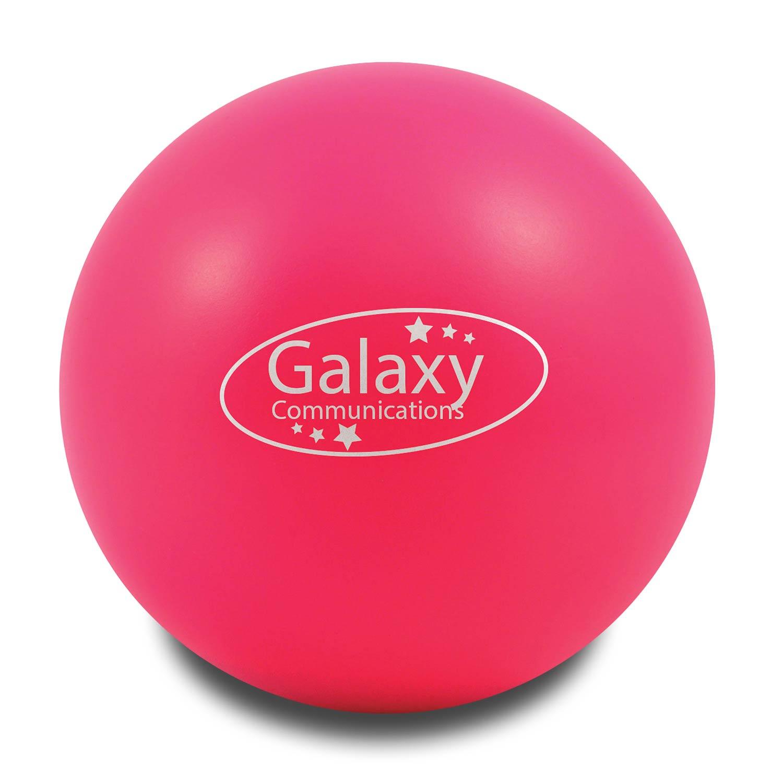 Pink Customised Stress Balls