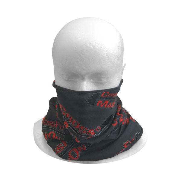 Printed Hi Vis Bandana - Worn As A Face Cover