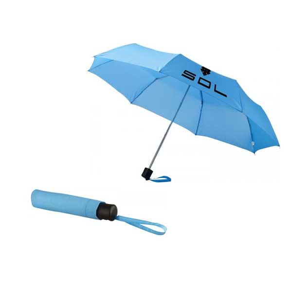 Process Blue Ida Foldable Umbrella