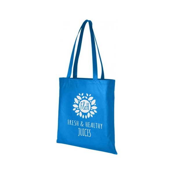 Process Blue Zeus Large Non-woven Tote Bag