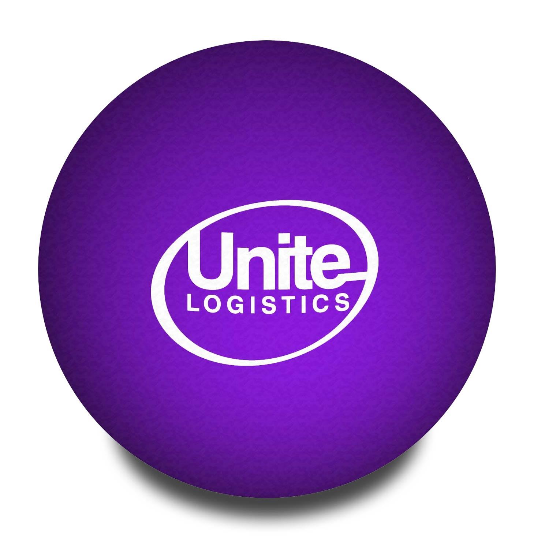 Purple Customised Stress Balls