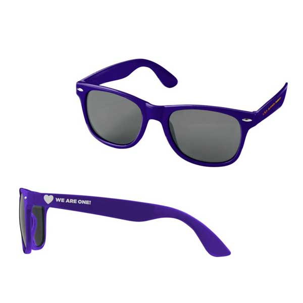 Purple Sun Ray Sunglasses
