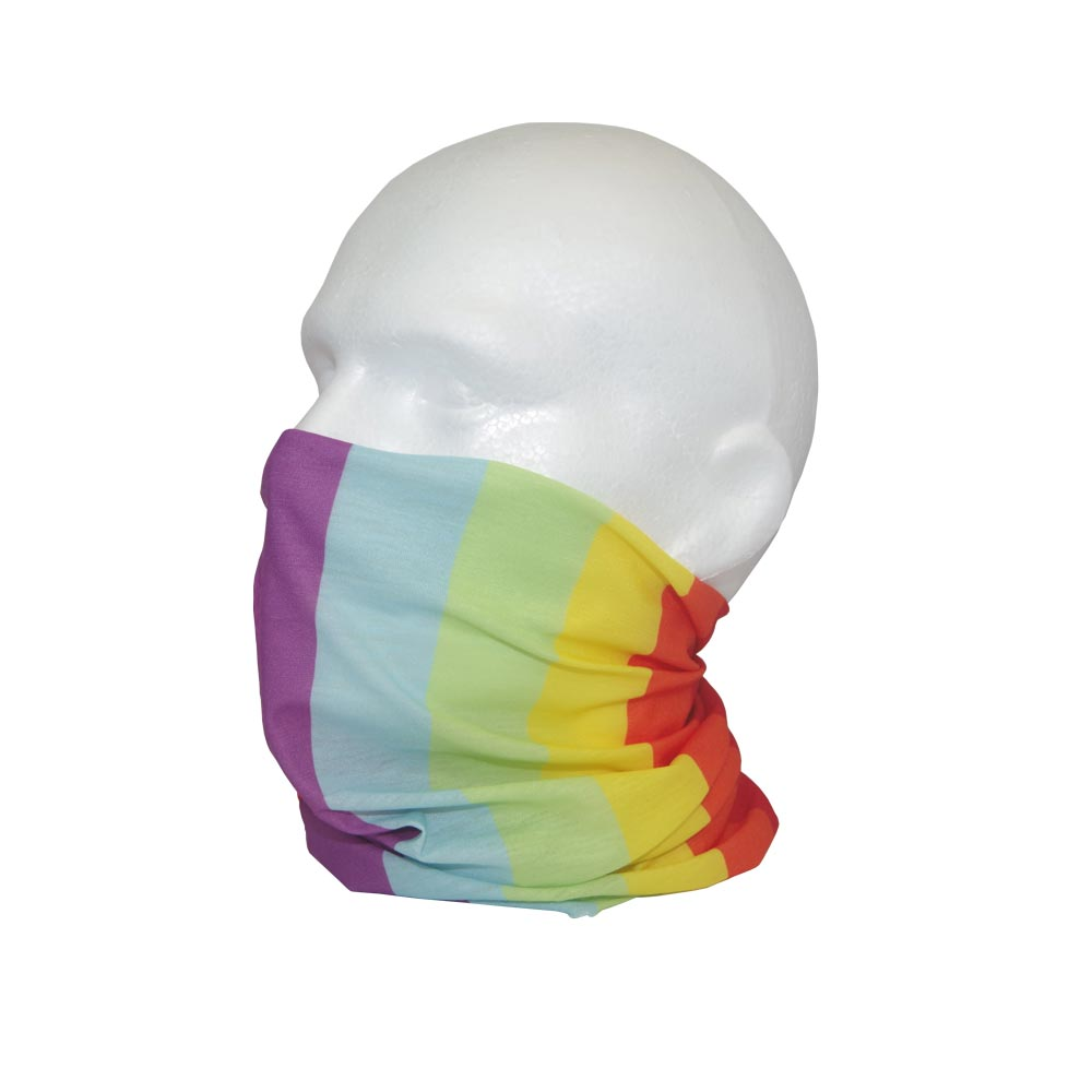 Rainbow Face Cover Bandana