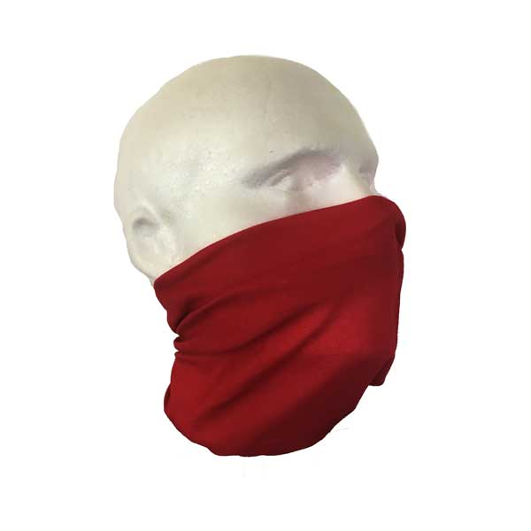 Red Face Cover Bandana