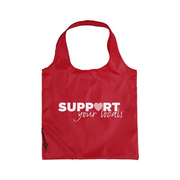 Red Bungalow Foldable Tote Bag