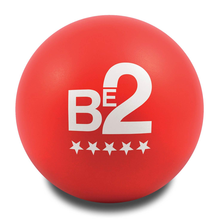 Red Customised Stress Balls
