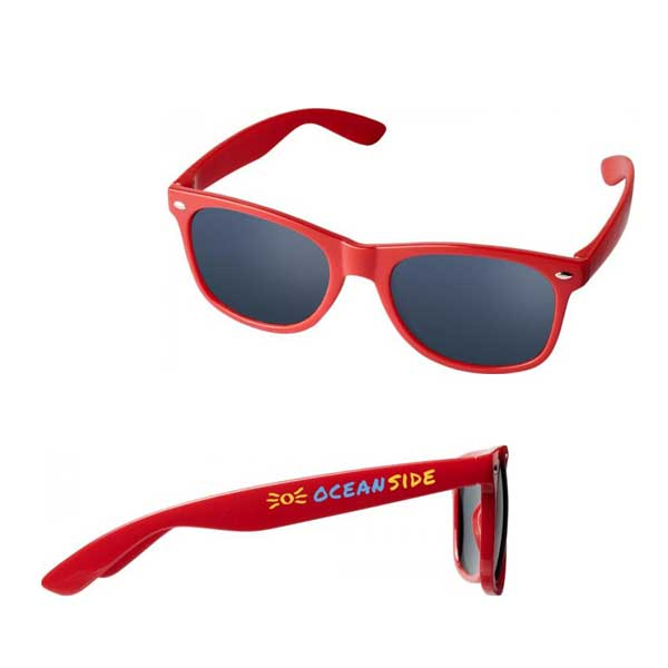 Red Sun Ray Kids Sunglasses
