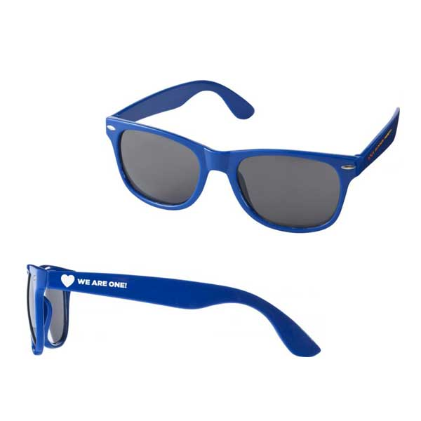 Royal Blue Sun Ray Sunglasses