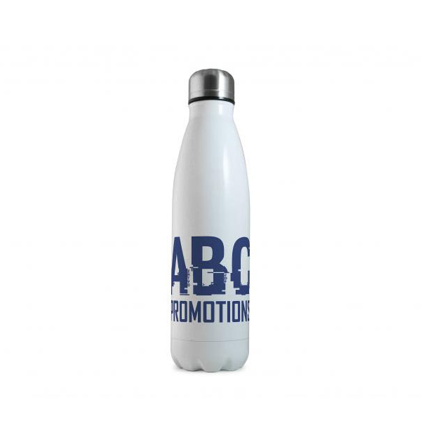 White Eevo-Therm Printed Bottle