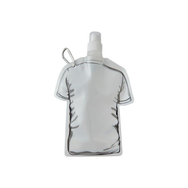 White Goal Football Jersey Foldable Water Bottle 500ml