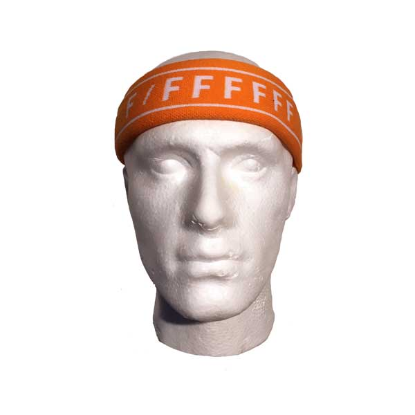 Custom Woven Head Sweatband - Front View