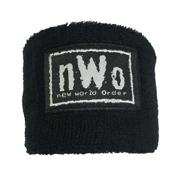 Wrist Sweatband With Branded Patch