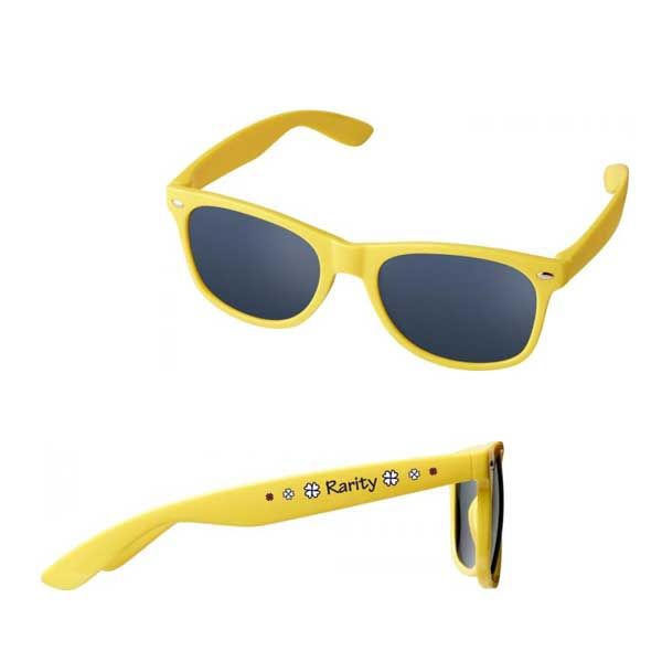 Yellow Sun Ray Kids Sunglasses