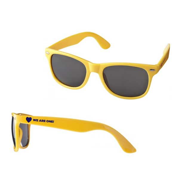 Yellow Sun Ray Sunglasses